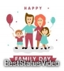 Happy International Family Day Whatsapp Status Video Download