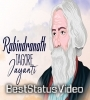 Rabindranath Tagore Jayanti Whatsapp Status Video Download