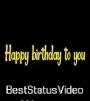 Happy Birthday Song Naan Sirithal WhatsApp Status Video Download