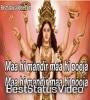 Maa Hi Mandir Maa Hi Pooja Navratri Special Whatsapp Status Video
