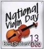 World Violin Day 13 December Short Video WhatsApp Status