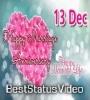 13 December Happy Marriage Anniversary WhatsApp Status Video Download