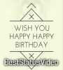 Happy Birthday Wishes Song Full Screen Status Video Free Download