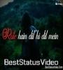 Rote Hai Dil Hi Dil Main Status Video Free Download