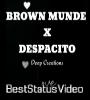 Brown Munde x Despacito Whatsapp Status Video Download