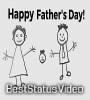 So Adorable Happy Fathers Day Status Video Download