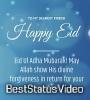 Eid Ul Adha Mubarak Status Video Download