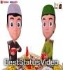 Download Eid Mubarak Animation Whatsapp Status Video