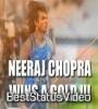 Neeraj Chopra Olympic 2021 India Gold Status Video Download