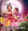 Milna Ho To Aisa Ho Radha Krishna 4K Full Screen Status Hd