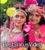 Kitna Bechain Hoke Tumse Mila Radha Krishna 4K Full Screen Status Video