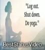 Happy International Yoga Day Latest Yoga Day WhatsApp Status Video