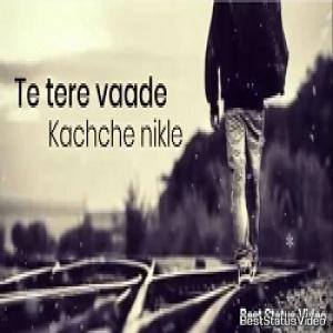 Main Vichara Kismat Hara Lyrics Whatsapp Status Video ...